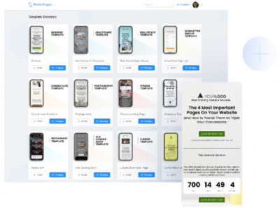 Mobile Pages by AdSightPro